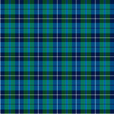 Geruite Schotse wollen stof Stock Afbeeldingen