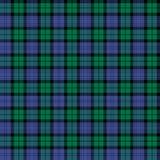 Geruite Schotse wollen stof Royalty-vrije Stock Afbeelding