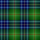 Geruite Schotse wollen stof, plaidpatroon Royalty-vrije Stock Fotografie