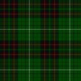 Geruite Schotse wollen stof, plaidpatroon Stock Fotografie