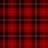 Geruite Schotse wollen stof, plaidpatroon Stock Afbeeldingen