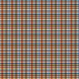 Geruite Schotse wollen stof, plaidpatroon Stock Foto's