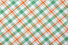 Geruite textielachtergrond Stock Foto