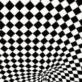 Geruite textuur 3d achtergrond Stock Afbeelding