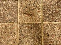 Geruite textuur van cement en stenen stock foto's