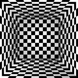 Geruite textuurdoos abstracte achtergrond Vector illustratie Stock Fotografie