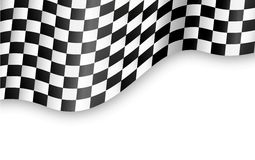 Geruite vlagachtergrond Royalty-vrije Stock Fotografie