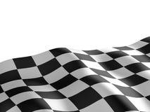 Geruite vlagtextuur. Royalty-vrije Stock Foto