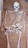 Gerulata - Rusovce -斯洛伐克-干部形式老罗马坟茔 免版税库存图片