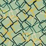 Gerundete farbige Quadrate Lizenzfreies Stockbild
