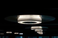 Gerundete LED-Lichter lizenzfreie stockfotos