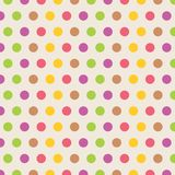 Gerundetes geometrisches Muster Stockbilder