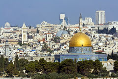 Gerusalemme Immagine Stock Libera da Diritti