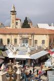 GERUSALEMME, ISRAELE - 28 febbraio 2017 - strada dei negozi Fotografie Stock Libere da Diritti