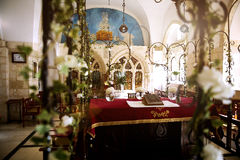 GERUSALEMME, ISRAELE - quattro sinagoghe sephardic Fotografia Stock Libera da Diritti