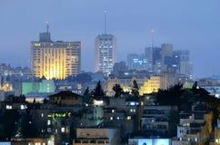 Gerusalemme moderna Fotografia Stock