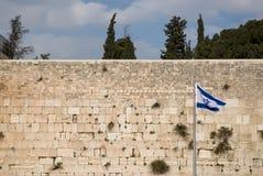 Gerusalemme, parete lamentantesi Fotografie Stock