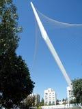 Gerusalemme ponte pilone maggio 2010 Fotografia Stock