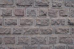 Geruwde gezichten van granietblokken royalty-vrije stock foto