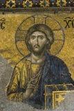 Gesù Cristo in Hagia Sophia Fotografia Stock