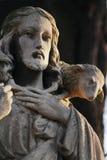 Gesù Cristo - il buon pastore (composizione in arte) Immagine Stock Libera da Diritti