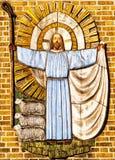 Gesù Cristo il pastore Immagini Stock Libere da Diritti