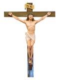 Gesù Cristo sulla traversa Fotografia Stock Libera da Diritti
