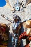 Gesù d'argento medio Immagini Stock Libere da Diritti