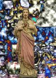 Gesù del figlio di Dio di Nazaret fotografie stock