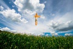 Gesù, Dio, religione, cielo, nuvole Immagine Stock Libera da Diritti
