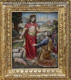 Gesù ha detto a Peter, alimenta le mie pecore Immagine Stock