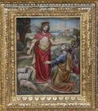 Gesù ha detto a Peter, alimenta le mie pecore Immagine Stock Libera da Diritti