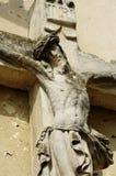 Gesù sulla pietra trasversale 2 Immagine Stock Libera da Diritti