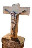Gesù trasversale anziano Fotografia Stock Libera da Diritti