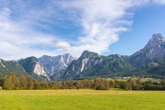 The Gesaeuse mountain range in Styria, Austria Stock Images