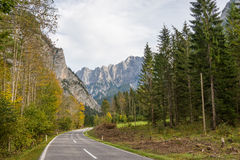 Gesaeuse mountain range in Styria, Austria Royalty Free Stock Images
