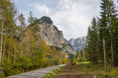 Gesaeuse mountain range in Styria, Austria Stock Image