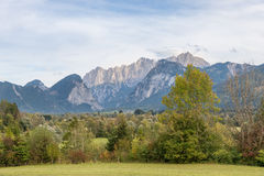 The Gesaeuse mountain range in Styria, Austria Stock Photo
