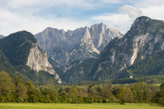 The Gesaeuse mountain range in Styria, Austria Stock Photos