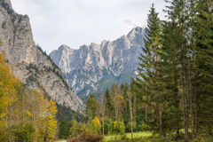 The Gesaeuse mountain range in Styria, Austria Royalty Free Stock Photography