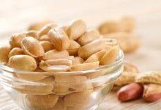 Gesalzene Erdnüsse Lizenzfreie Stockfotografie