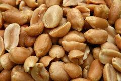 Gesalzene Erdnüsse Stockbilder