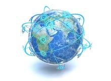 Gesamt-Netzwerk Stockfotos