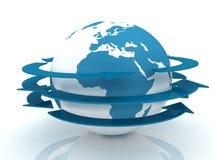 Gesamt-Netzwerk das Internet Lizenzfreie Stockbilder