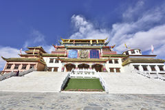 Gesar culture museum Royalty Free Stock Photography