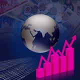 Geschäft ökonomisch und Finanzierung vektor abbildung