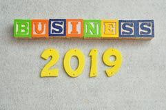 Geschäft 2019 Stockfotografie