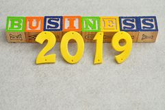 Geschäft 2019 Stockfoto