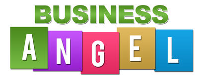 Geschäft Angel Professional Colorful Lizenzfreie Stockfotografie