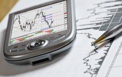 Geschäft, Börse Lizenzfreie Stockfotografie
